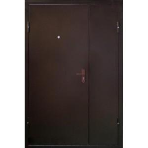 Входная дверь Строитель Двустворчатая 1200*2050